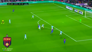 El golazo de Messi vs Celta Vigo - Video