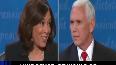 Mike Pence owns Kamala Harris at the Vice Presidential Debate