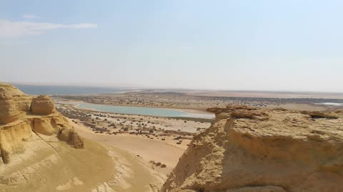 Tourist Adventure In Jabal El Modawara , Wadi El Rayan Desert