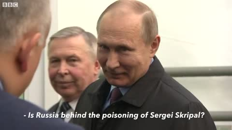 Just Watch How Putin Reacts When Asked If He's Responsible for Poisoning of Spy in England