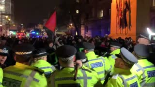 Antifa Riots In London And Attacks Police After Conservative Win [WATCH]