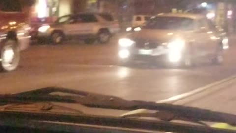 Intense Police Car Chase in Chicago