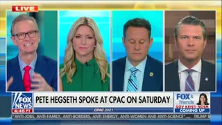 Fox News' Hegseth Not Happy Conservatives Mocking His CPAC Remarks