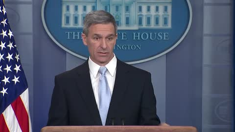 Ken Cuccinelli speaks in White House presser