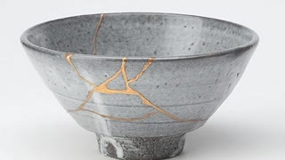 Discover the hidden secret behind this once broken bowl - Video