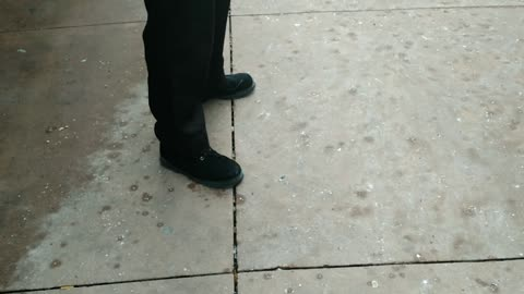 Private Security Tries To Assault Me on Public Sidewalk