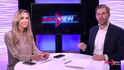 WATCH: The Right View with me and my very special guest, Eric Trump as we talk about the FAKE NEWS!