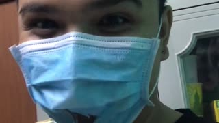 How to Eat while Wearing Medical Mask