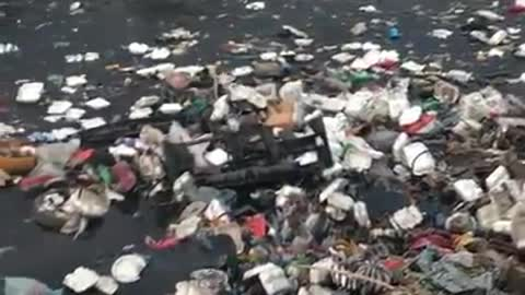 River of Trash in Haiti