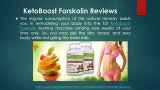 KetoBoost Forskolin Where to Buy and Free Trial - Video