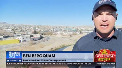 Bergquam: When you don't have any barriers, it's easy for illegal migrants to cross