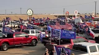 Lubbock Texas Trump Train