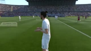 VIDEO: Fifa 17 - Real Madrid and Barcelona players faces