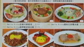 Hong Kong says Hello to a Hello Kitty-themed restaurant - Video