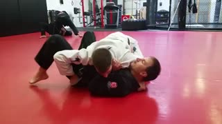 Sweep from Knee on Belly
