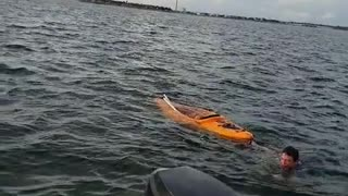 Florida Fisherman Rescue - Video