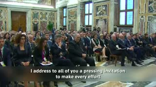 Pope Francis calls for 'significant global environmental' deals - Video
