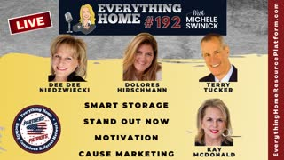 192 LIVE: Smart Storage, Stand Out Now, Motivation, Cause Marketing + TAKE ACTION TO SAVE AMERICA!
