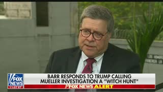 Barr explains joke about handcuffs he made to Pelosi