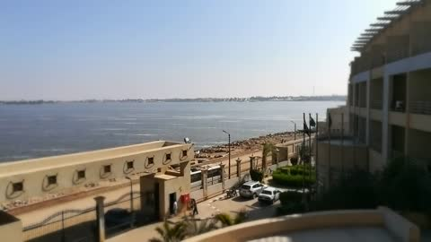 Stunning Hotel View Face Qarun Lake Egypt In Shaksouk Town