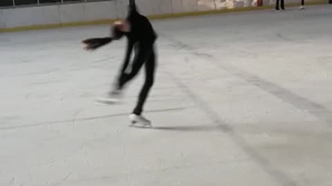 Laybackspin Figure Skating