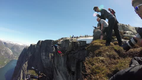 SBK Heliboogie Recap - BASE Jumping Norway