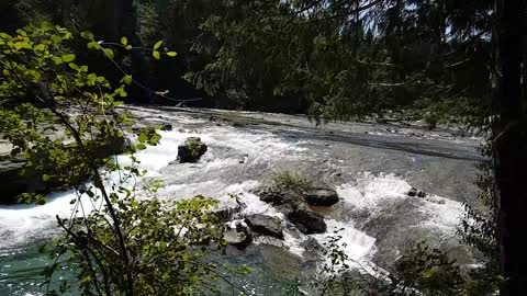 The Gorgeous Nymph Falls, British Columbia, Canada