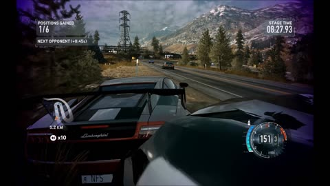 Need for speed The Run Gameplay