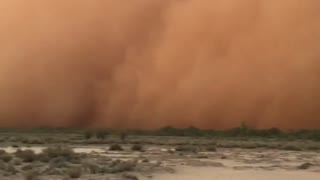 Outback Dust Storm - Video