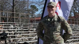 2021 Army Best Medic Competition Winner Interview Tyrel Trainor