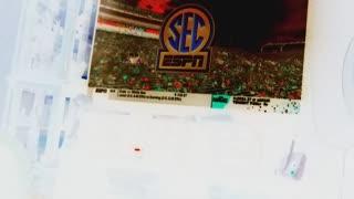 Halftime report COLLEGE FOOTBALL SEC