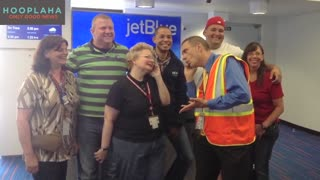 The JetBlue Crew Member Born to Help Others - Video