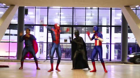 Superhero Dance Routine