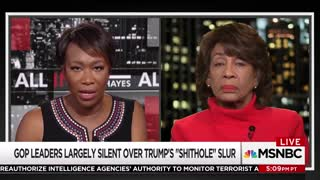 Maxine Waters Won't 'Waste' Her Time Attending Trump's SOTU Address - Video