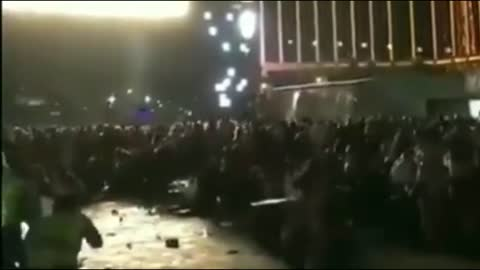 Las Vegas Shooting: Video Shows Security Guard Open Fire on Crowd