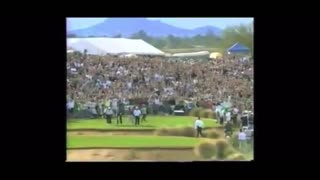 Tiger Woods Hits Hole In One