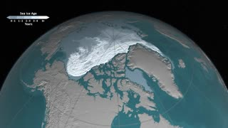 NASA releases timelapse showing Arctic Sea ice disapearing