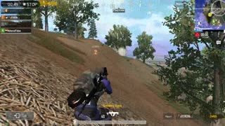 Tack Team With Grooze Sniper Skills in Last 6 People Pubg Mobile