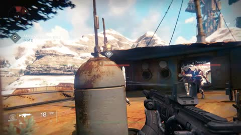 'Destiny' beta multiplayer gameplay for PS4