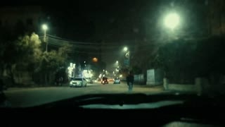 Driver Exploring Town In Night Day - Street Viral Videos