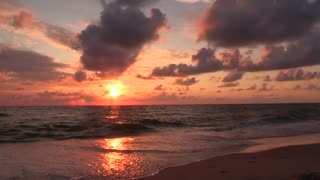Enjoy the Moments of Sunset and Beauty of Nature on the Beach