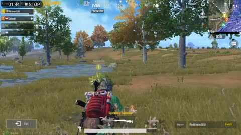 Trained Sniper Takes His Kills From High Hill Pubg Game