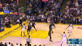 Steph Curry BURNS Seth Curry with Long 3 Pointer In His Face - Video