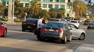 Road Rage Street Fight - Video