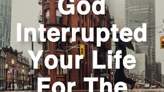 God Interrupts - Video