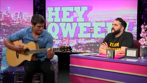 Steve Grand Live Acoustic Set on Look at Huh Hey Qween Aftershow with Jonny McGovern
