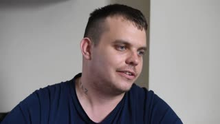 Lottery winner, Lee Davies, speaks after being targeted by robbers - Video