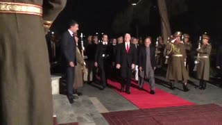 Pence Makes Surprise Christmas Visit To Afghanistan - Video
