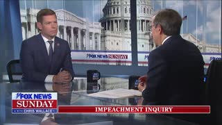 Chris Wallace questions Swalwell on his bias in impeachment inquiry