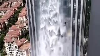 The Wonderful Tower - Tallest Man-made Waterfall - Video